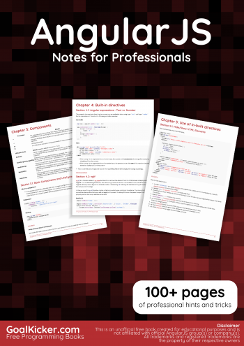 AngularJS book